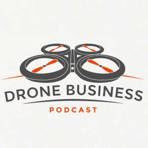 Drone logo - Drone Business Podcast