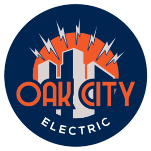 Electrical logo - Oak City Electric