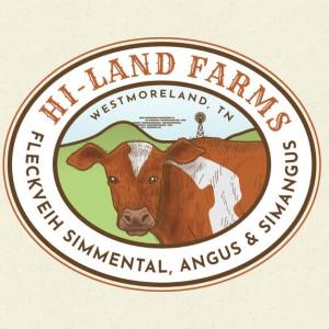 Farm logo - Hi-Land Farms