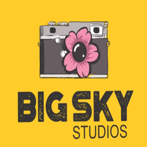 Flower logo - Big Sky Studios