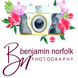 Flower logo - Benjamin norfolk