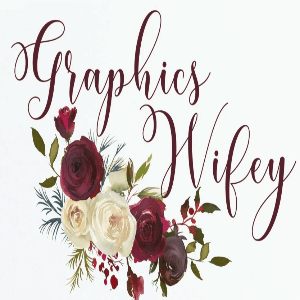 Flower logo - Graphics Wifey