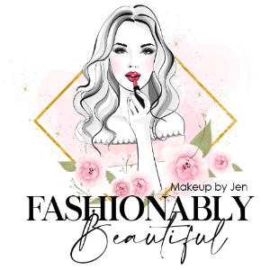 Makeup logo - Fashionably Beautiful
