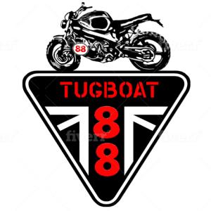 Motorcycle logo - Tugboat 88
