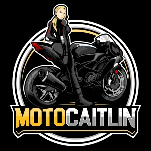 Motorcycle logo - MotoCaitlin