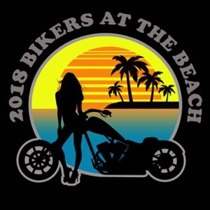 Motorcycle logo - 2018 Bikers at the Beach