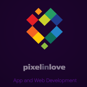 Pixel logo - Pixelinlove