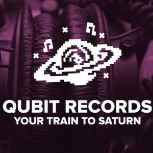 Pixel logo - Qubit Records