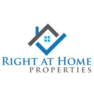 Real Estate logo - Right and Home Properties