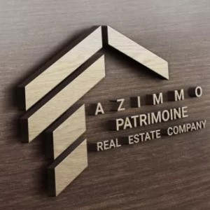 Real Estate logo - Azimmo Patrimoine