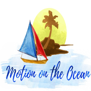 Water logo - Motion on the Ocean