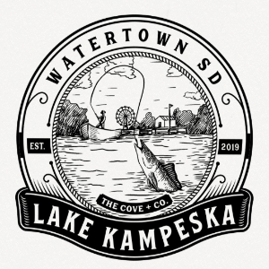 Water logo - Lake Kampeska
