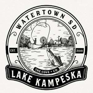 Water logo - Lake Kampeska