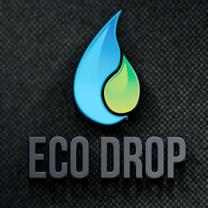 Water logo - Eco Drop