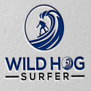 Wave logo - Wild Hog Surfer
