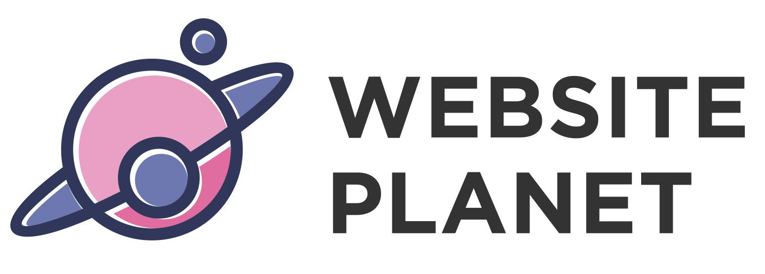 Website Planet logo from 99designs