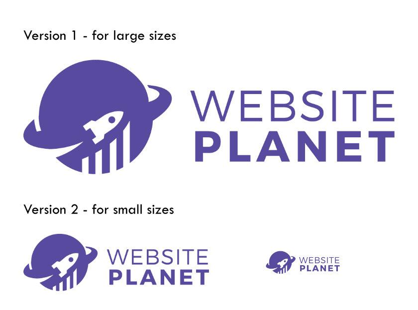 Website Planet logo from Designhil