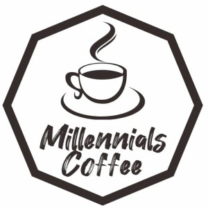 Coffee logo - Millenials Coffee