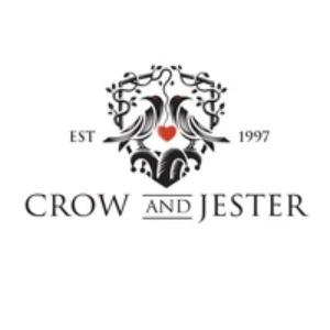 Crest logo - Crow and Jester