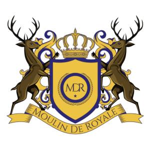 Crest logo - Moulin De Royale