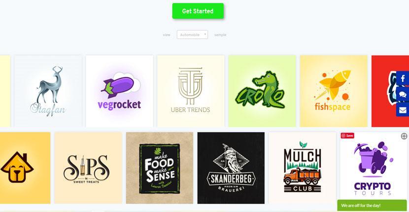 Get Custom Logo portfolio - logos