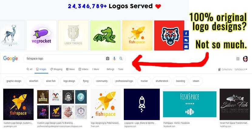 Get Custom Logo Google image search