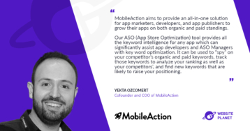 MobileAction Uses World Class Data Make Your App Business a Success