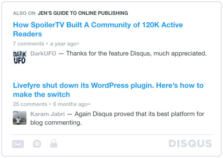 Disqus Engages and Retains Your Online Audience