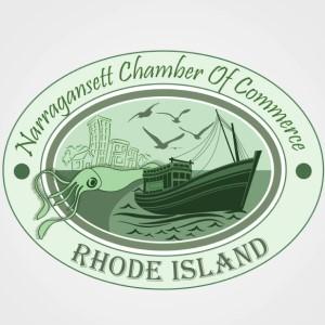 Boat logo - Narragansett Chamber of Commerce