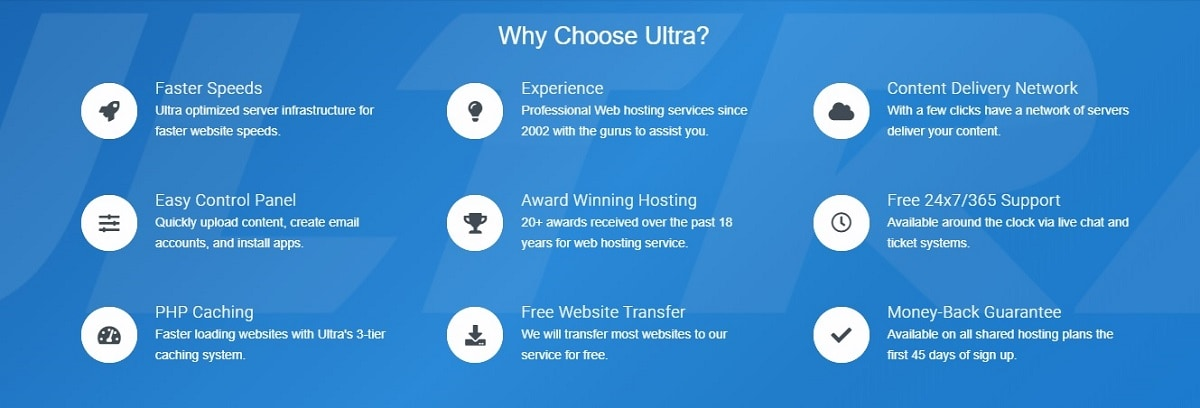 Ultra Web Hosting