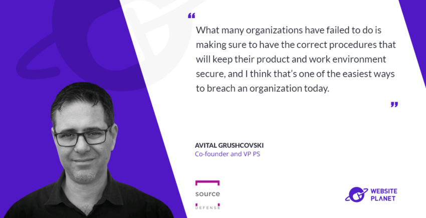 Website planet Interview with Avital Grushcovski, Source Defense