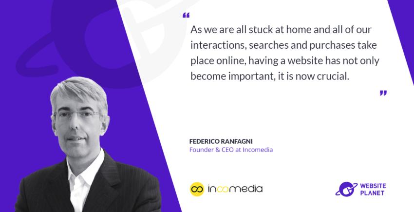 Interview with IncoMedia CEO Federico Ranfagni)