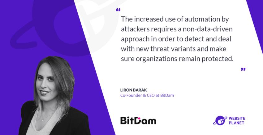 Interview with BitDam CEO Liron Barak
