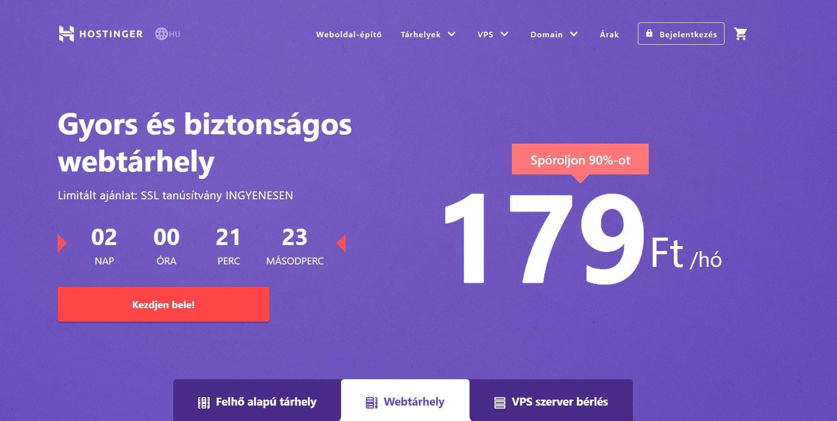 hu-hostinger-homepage