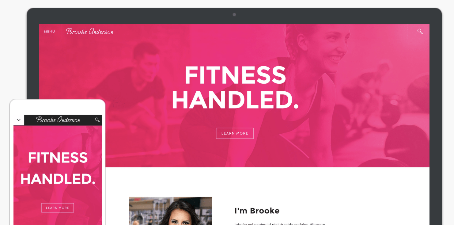 Weebly Slick template