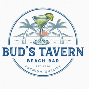 Beach logo - Bud's Tavern Beach Bar