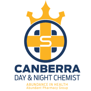 Crown logo - Canberra Day & Night Chemist