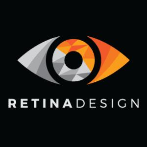 Eye logo - Retina Design