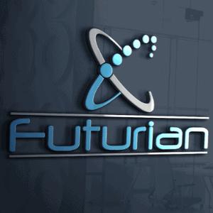 Futuristic logo - Futurian