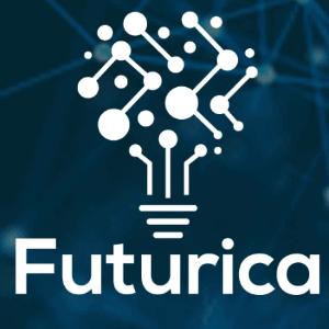Futuristic logo - Futurica