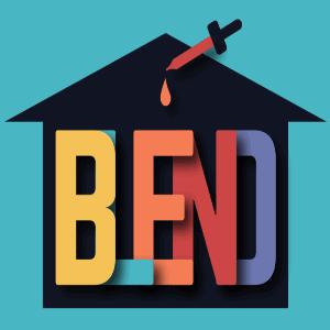 House logo - Blend