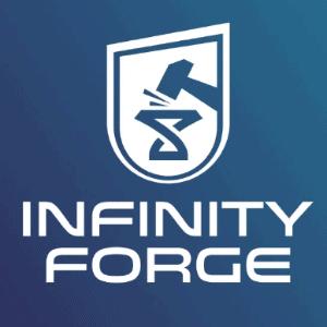Infinity Symbol logo - Infinity Forge