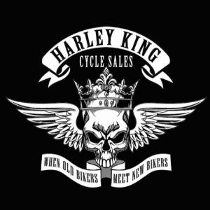 King logo - Harley King Cycle Sales