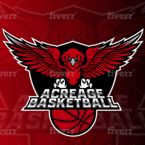 Mascot logo - Acreage Basketball