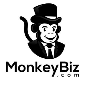 Mascot logo - MonkeyBiz.com