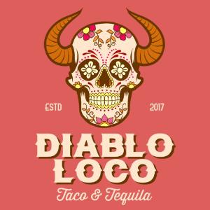 Skull logo - Diablo Loco
