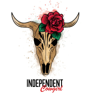 Skull logo - Independent Cowgirl