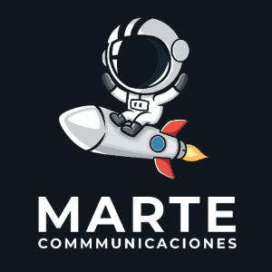 Space logo - Marte Communiccaciones