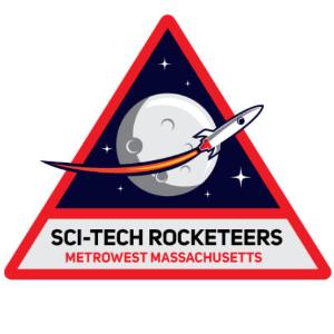 Space logo - Sci-tech Rocketeers
