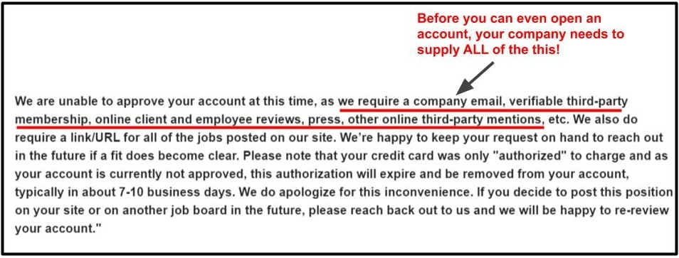 Flexjob customer support email - unable to approve account